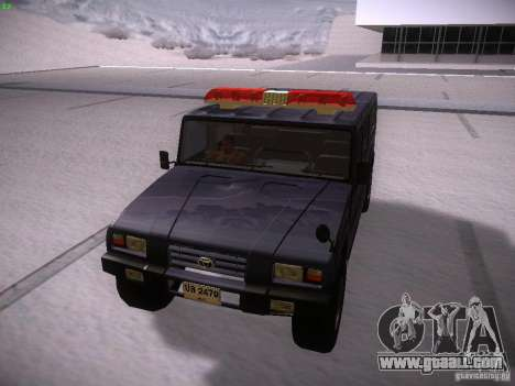 Toyota Mega Cruiser for GTA San Andreas