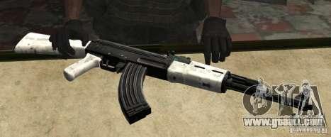 Snow AK47 (Snow Ak47) for GTA San Andreas
