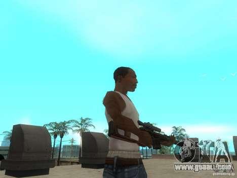 Rifle VSS Vintorez for GTA San Andreas forth screenshot