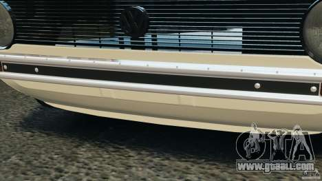 Volkswagen Golf Mk1 Stance for GTA 4 interior