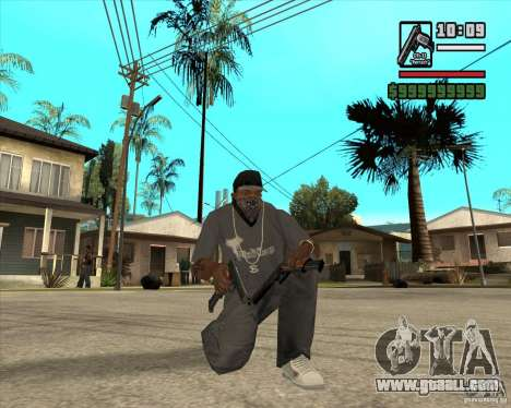 Millenias Weapon Pack for GTA San Andreas ninth screenshot
