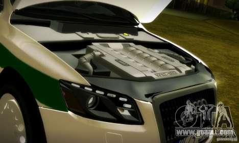 Audi Q5 TDi - Policija for GTA San Andreas side view