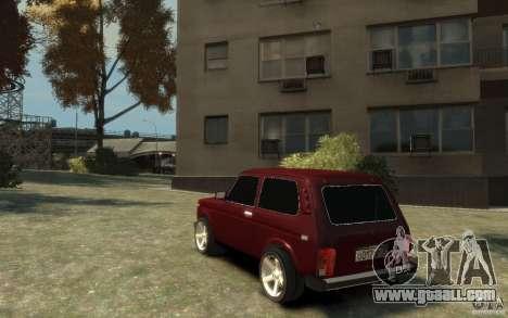 VAZ 21214 Niva for GTA 4 back left view