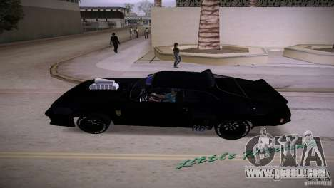 Ford Falcon GT Pursuit Special V8 Interceptor 79 for GTA Vice City back left view