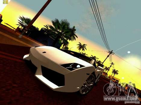 Lamborghini Gallardo LP560-4 for GTA San Andreas