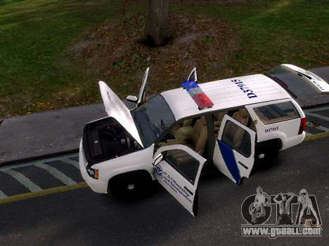 Chevrolet Tahoe Homeland Security for GTA 4 right view