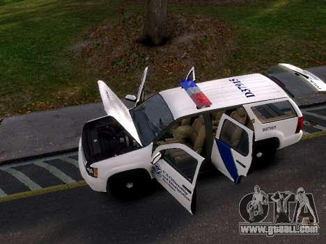 Chevrolet Tahoe Homeland Security for GTA 4