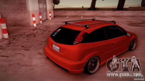 Ford Focus SVT Clean for GTA San Andreas bottom view