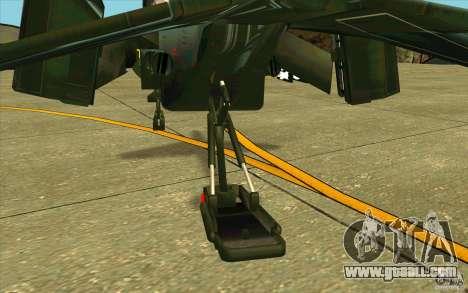 Aliens vs. Predator Marine Drobship for GTA San Andreas side view