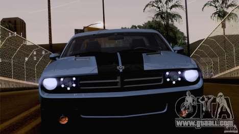 Dodge Challenger SRT8 for GTA San Andreas wheels