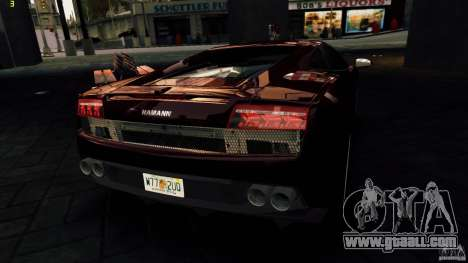 Lamborghini Gallardo Hamann for GTA 4 engine