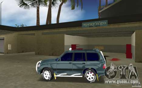 Toyota Land Cruiser 100 for GTA Vice City left view