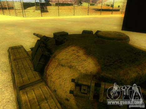 Tank game S. T. A. L. k. e. R for GTA San Andreas inner view