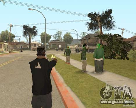 Mark and Execute for GTA San Andreas second screenshot