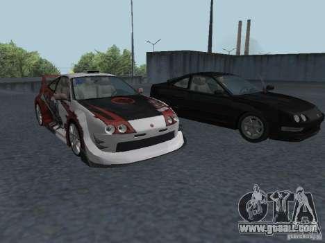 Acura Integra Type-R for GTA San Andreas