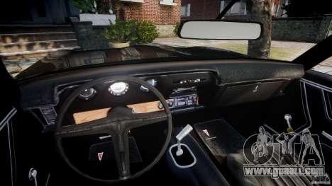 Pontiac GTO Judge for GTA 4 back view