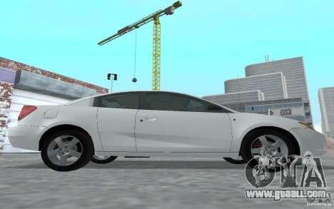 Saturn Ion Quad Coupe for GTA San Andreas back left view
