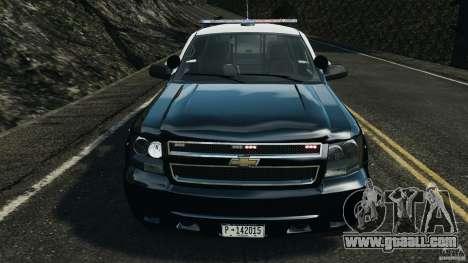 Chevrolet Tahoe Marked Unit [ELS] for GTA 4 inner view