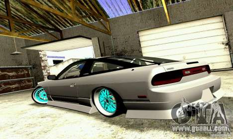 Nissan 240SX for GTA San Andreas left view