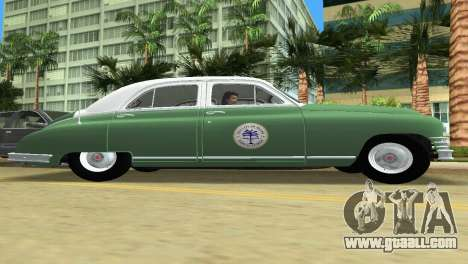 Packard Standard Eight Touring Sedan Police 1948 for GTA Vice City back view
