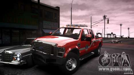 Ford Chief F250 for GTA 4 upper view