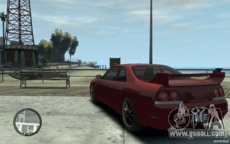 Nissan Skyline GT-R V-Spec 1998 for GTA 4 back left view