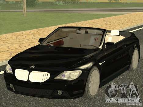 BMW 650I for GTA San Andreas