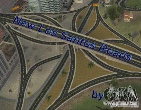 New roads of Los Santos for GTA San Andreas