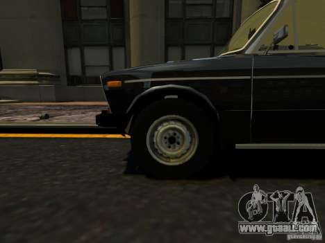 VAZ 2106 for GTA 4 back view