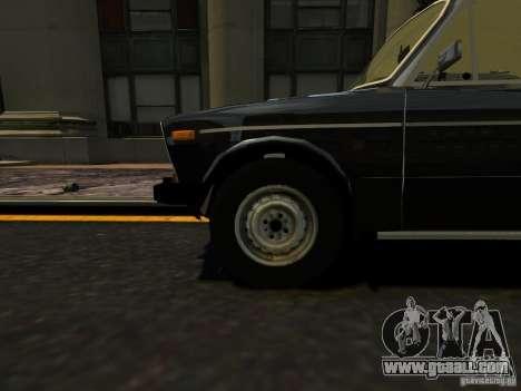 VAZ 2106 for GTA 4 back view
