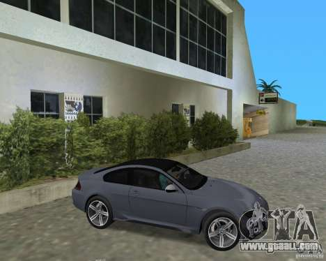 BMW M6 for GTA Vice City right view