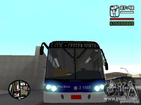 Busscar Urbanuss Ecoss MB 0500U Sambaiba for GTA San Andreas side view