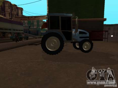 Tractor МТЗ 922 for GTA San Andreas back left view