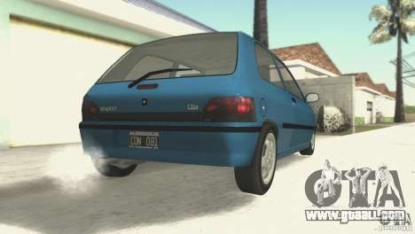 Renault Clio RL 1996 for GTA San Andreas right view