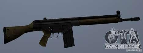 G3A3 Assault Rifle for GTA San Andreas