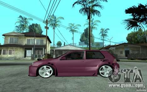 Volkswagen Golf GTI 4 Tuning for GTA San Andreas left view