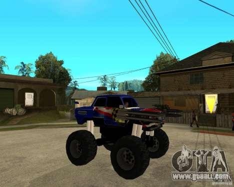 ZAZ MONSTER for GTA San Andreas