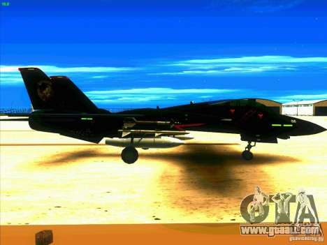 F-14 Tomcat Razgriz for GTA San Andreas right view