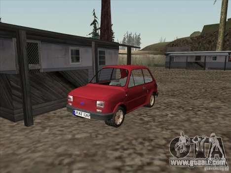 Fiat 126p Elegant for GTA San Andreas