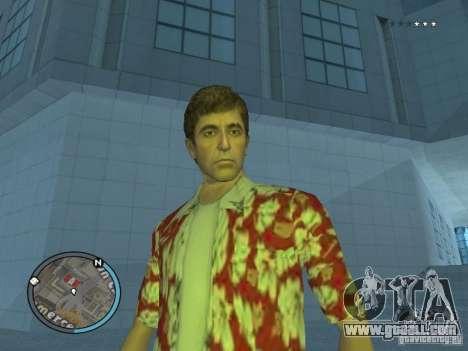 Tony Montana for GTA San Andreas second screenshot