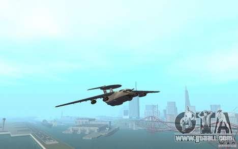 Berijew A-50 Mainstay for GTA San Andreas