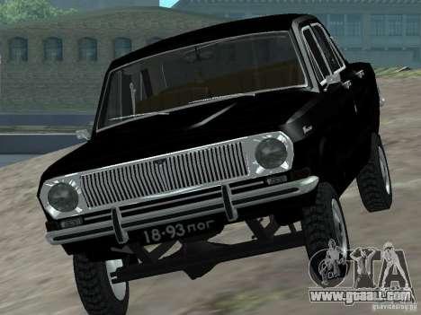 GAZ-24 VOLGA 95 for GTA San Andreas right view