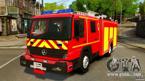 Mercedes-Benz Atego FPTGP Sapeurs Pompiers ELS for GTA 4