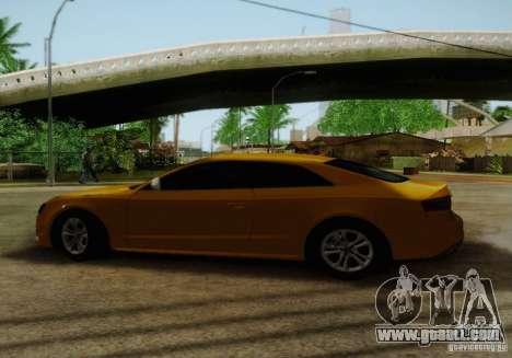 Audi S5 for GTA San Andreas interior