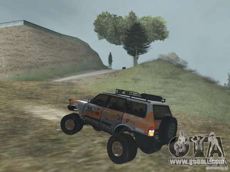 Tornalo 2209SX 4x4 for GTA San Andreas back left view