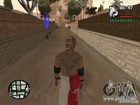 Rey Mysterio for GTA San Andreas forth screenshot