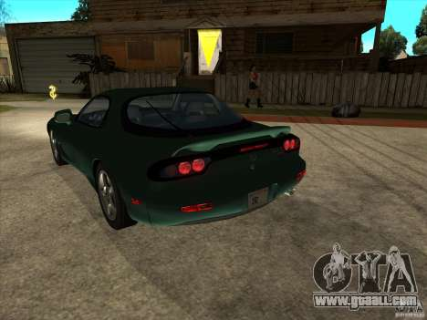 Mazda RX-7 1991-1999 for GTA San Andreas left view