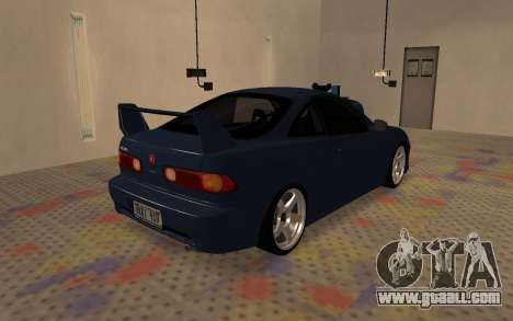 Acura Integra Type R 2000 for GTA San Andreas back left view