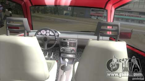 Fiat Uno Turbo for GTA Vice City right view
