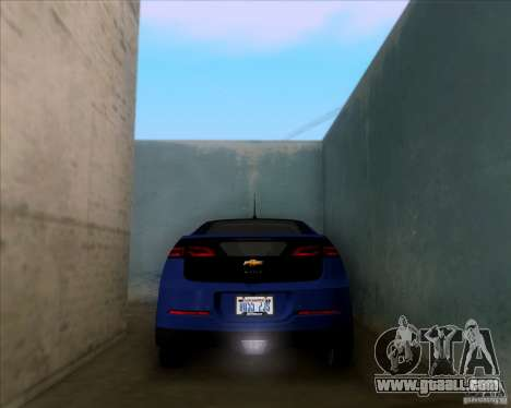 Chevrolet Volt 2012 Stock for GTA San Andreas side view
